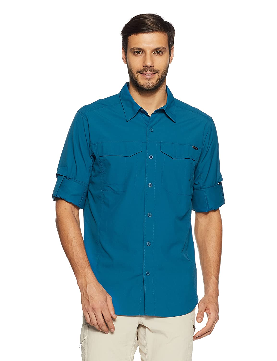 Columbia Men's Silver Ridge Long-Sleeve Shirt Columbia (Sporting Goods) AJ7453