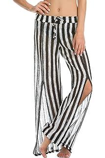 d4277c31e8 ISABELLA ROSE Women's Home Spun Lace Pants Swim Cover Up at Amazon ...