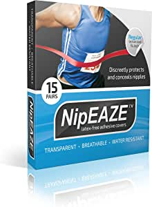 NipEaze - The Original Sports Nipple Cover - Nipple Chafing Prevention (1pack, Regular)