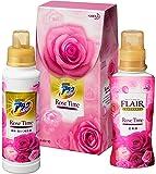 【ギフトセット】ウルトラアタックNeo フレアフレグランス ローズタイムの香り(洗濯用洗剤 濃縮液体 柔軟剤)