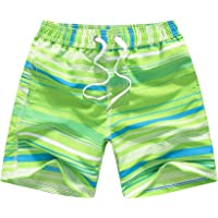 Kqpoinw Trajes de Baño para Niños, Trajes de Baño para Niños Pantalones Cortos de Tabla de Playa Transpirables de Secado…