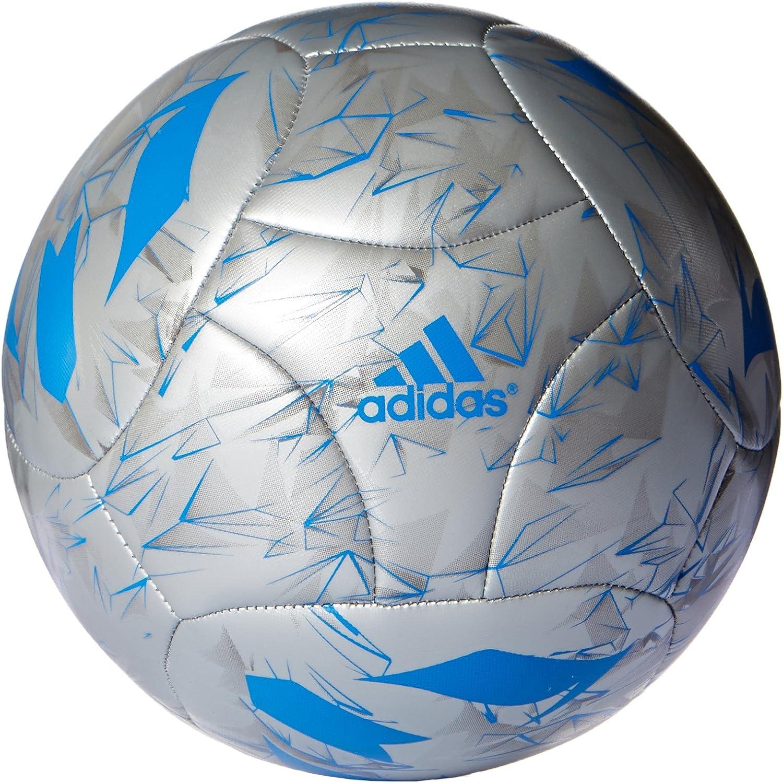 adidas Messi Q3 Balón de fútbol, Hombre, Plateado (Plamet/Azuimp ...