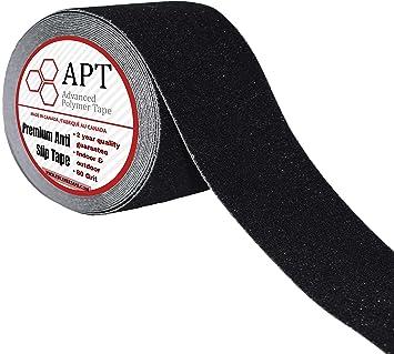 APT, cinta de tracción antideslizante, cinta de agarre de tracción fuerte, antideslizante impermeable para escaleras, bebé/anciano/mascota/interior/exterior, color negro. (Paquete de valor diverso): Amazon.es: Bricolaje y herramientas