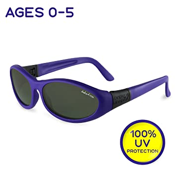 82a1c42047 Toddler and Kids Sunglasses with Strap - Baby Wrapz 2 Baby Sunglasses w   100%