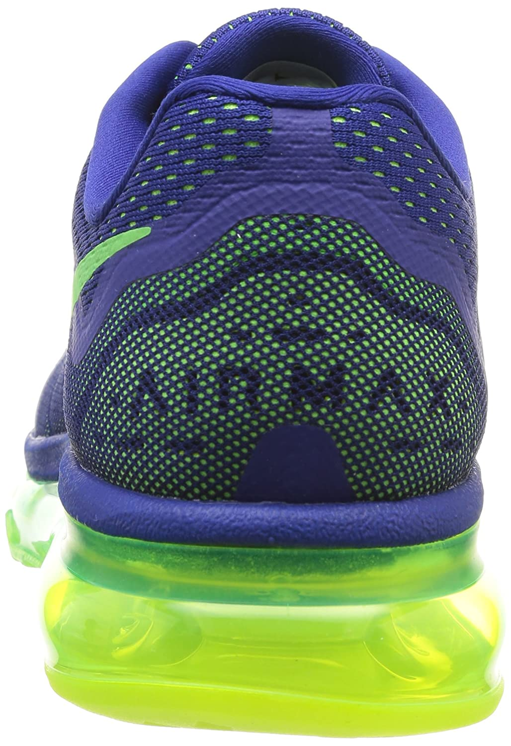 best cheap 89ad1 94575 Nike Air Max 2014 Mens Running Trainers 621077 Sneakers Shoes deep royal  blue electric green volt black 402 uk 6 us 7 eu 40  Buy Online at Low  Prices in ...