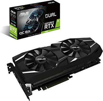 ASUS DUAL RTX 2080 OC Edition 8GB Gaming Graphics Card
