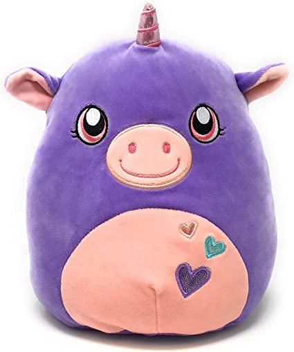 Squishmallow 5 Inch Lorie with Hearts Kelly Toy