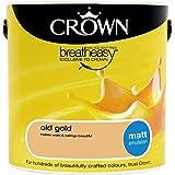 Crown Matt 2.5L Emulsion - Old Gold