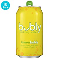 Deals on 54 Pack bubly Sparkling Water Lemon 12 Fluid Ounces cans