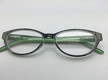 cc954e69f3 2020 RJ080 Fashion Style Comfortable Stylish Simple Reading Glasses  +1.00(Green and black Color