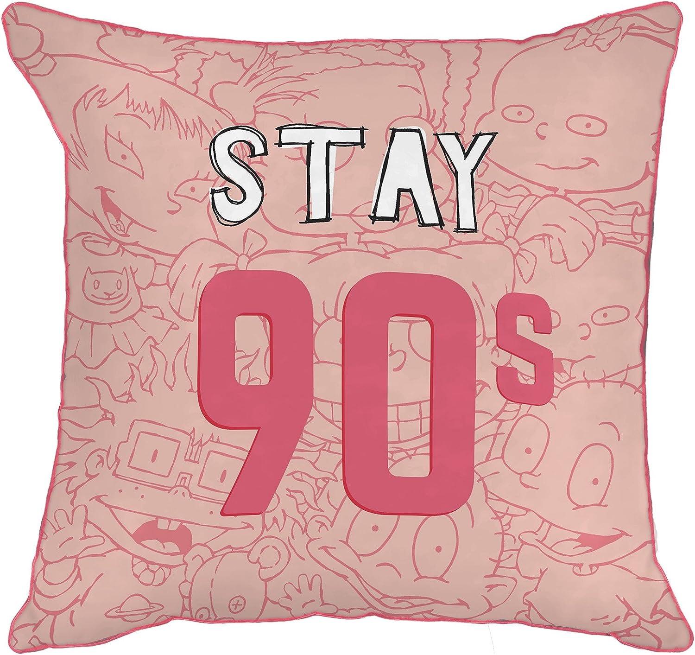 Nickelodeon Nick 90's/Splat Stay 90'S Decorative Toss Throw Pillow