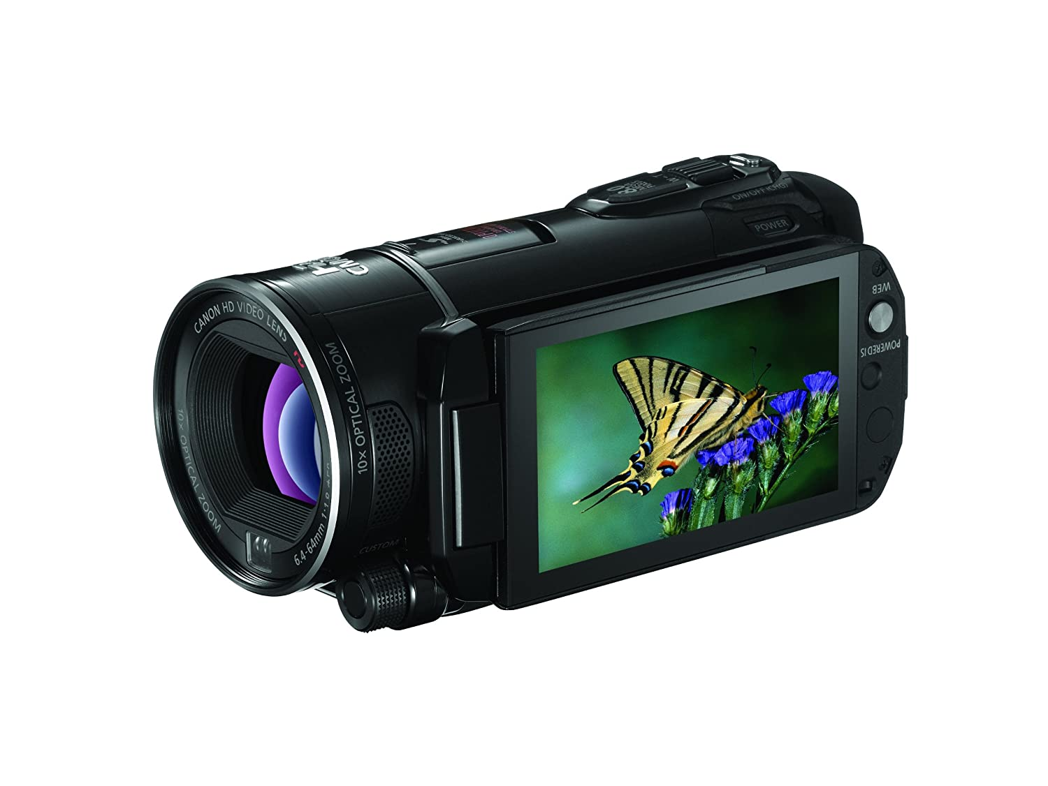Amazon.com : Canon VIXIA HF S21 Full HD Camcorder w/64GB Flash Memory & Pro  Manual Control (Discontinued by Manufacturer) : Sony Camcorder : Camera &  Photo