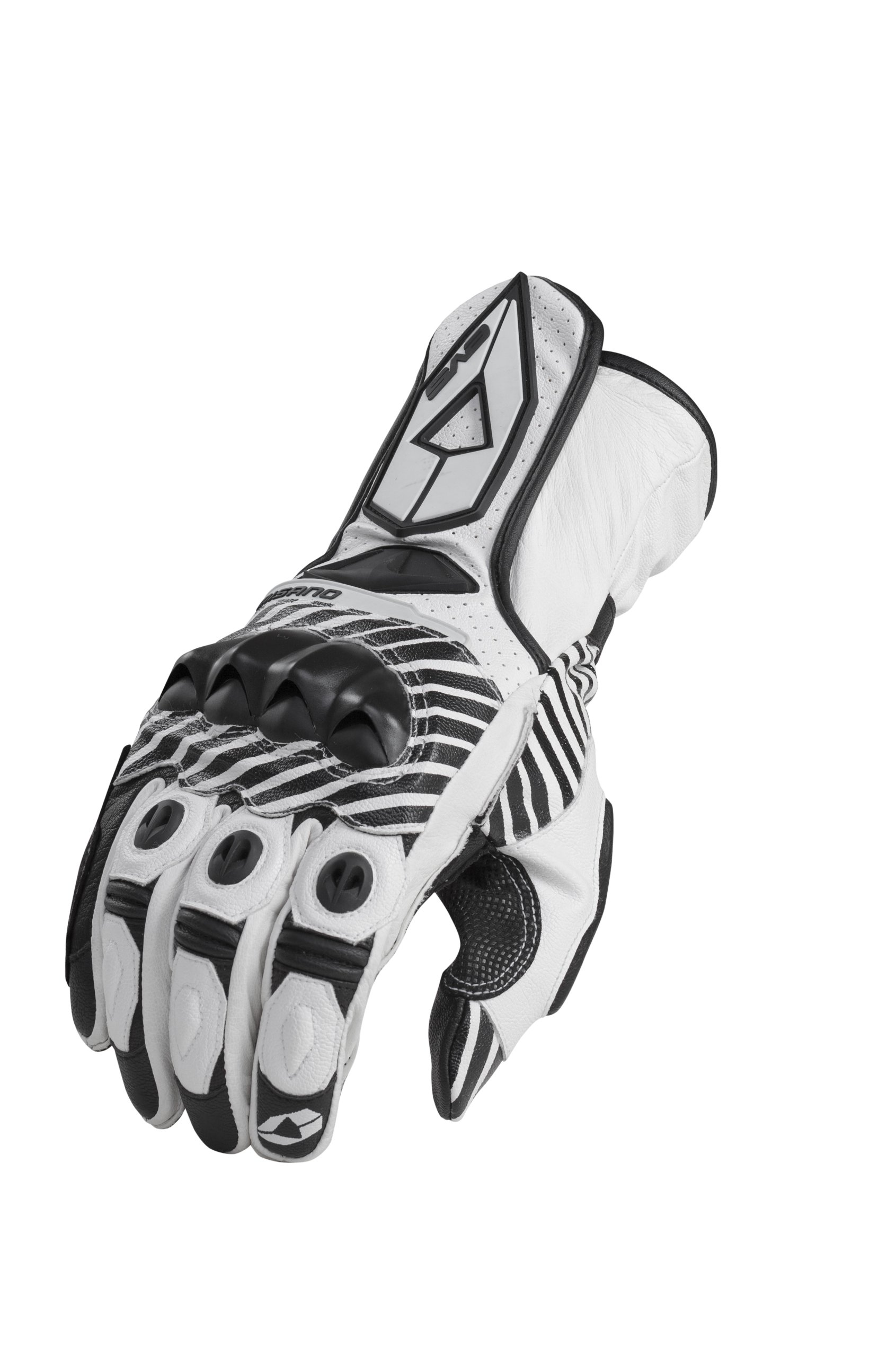 EVS Sports Misano Street Gloves (White, X-Large)