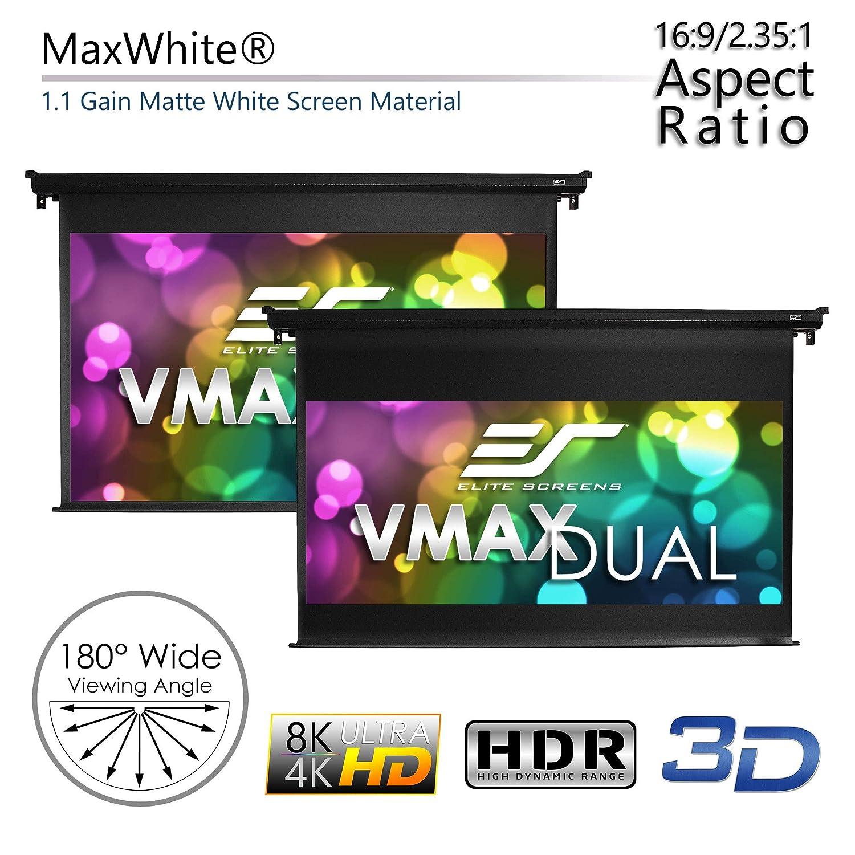 Elite Screens VMAX120H114C VMAX Dual Series Pantalla de ...