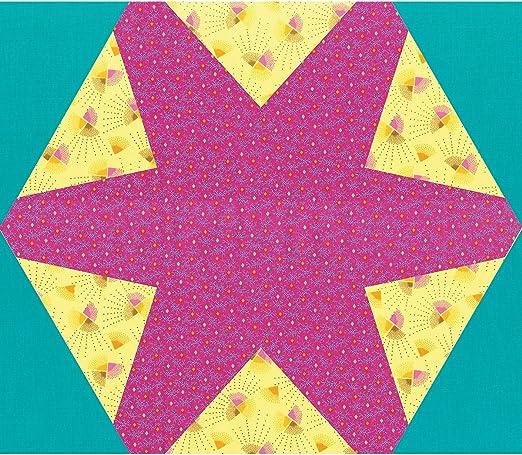 """12 1//2/"""" X 14 1//2/"""" montado Sizzix Bigz Plus Die-Hex Star"""