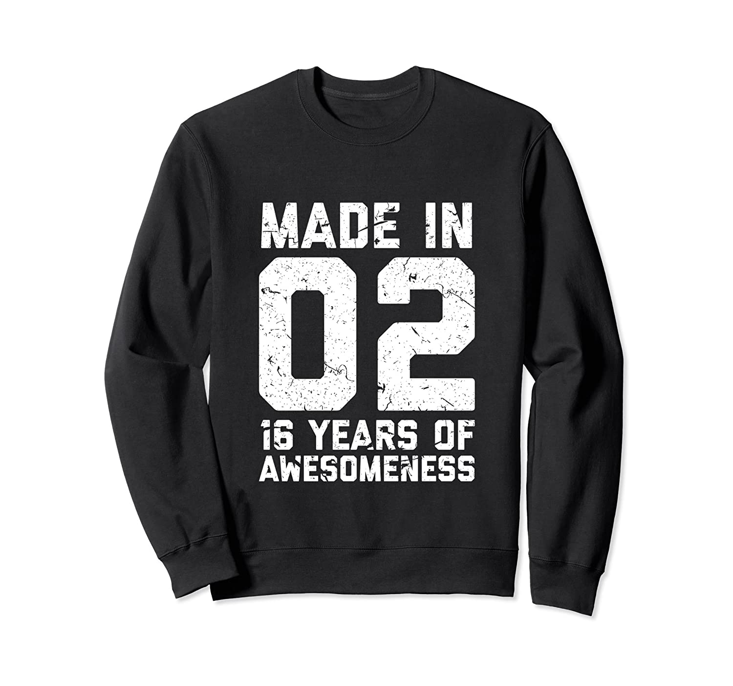 16th Birthday Sweatshirt Gift Girl Boy Age 16 Year Old Girls TH