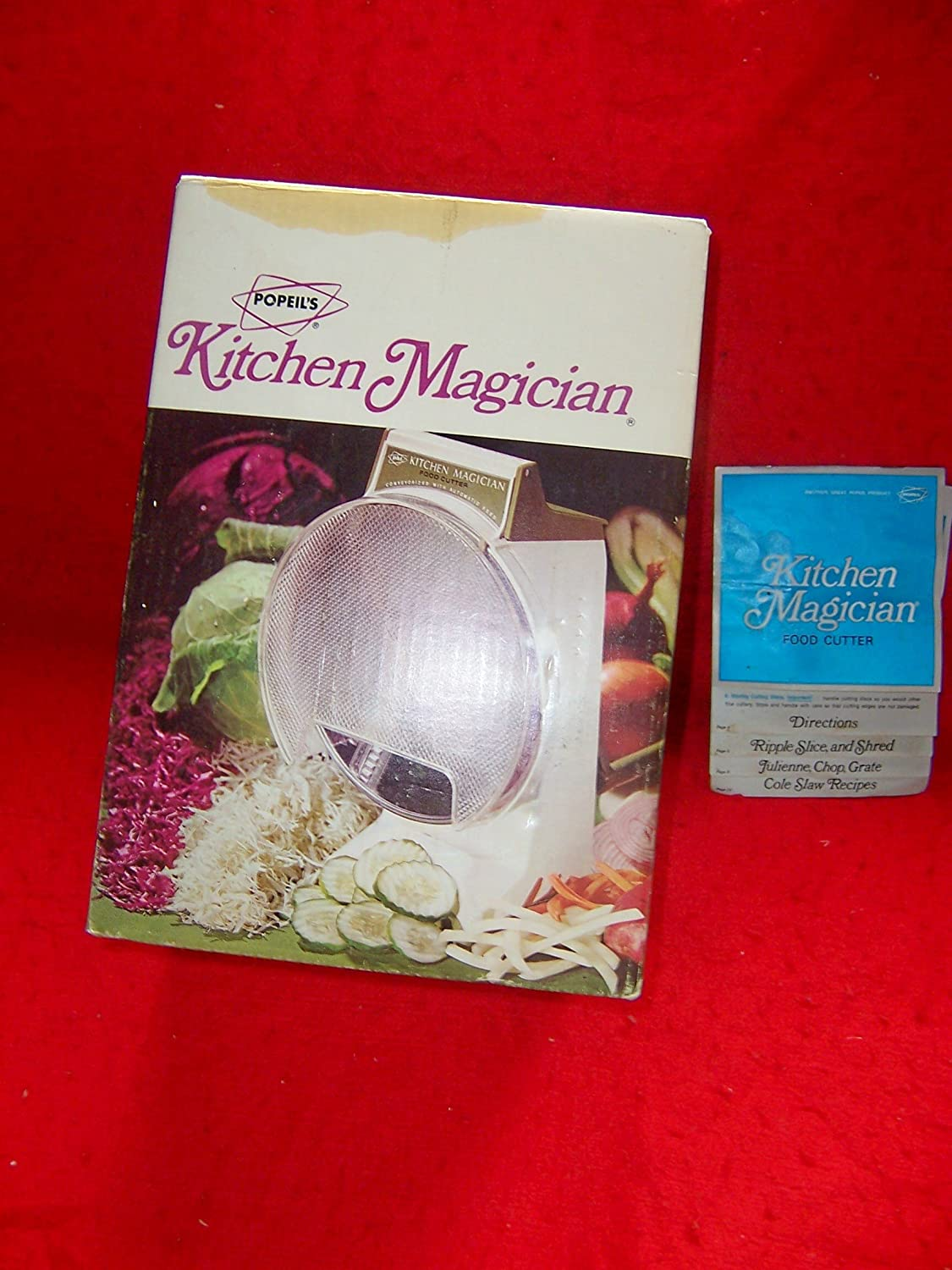Superior Amazon.com: Vintage 1970 Kitchen Magician Food Cutter: Kitchen Products:  Kitchen U0026 Dining