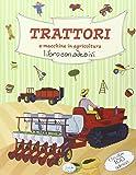 Trattori e macchine in agricoltura. Con adesivi