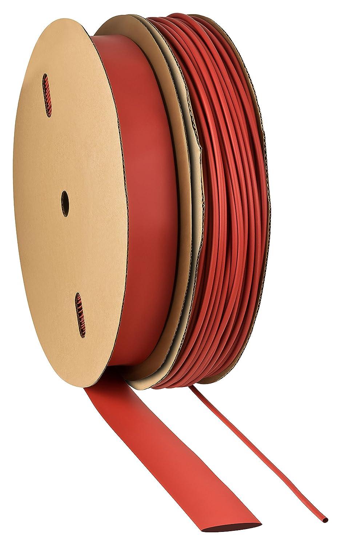 here: /Ø8mm - 1 meter ISO-PROFI/® 2:1/Gaine thermor/étractable S/électionen 10/tailles et 6/longueurs M/ètre rouge