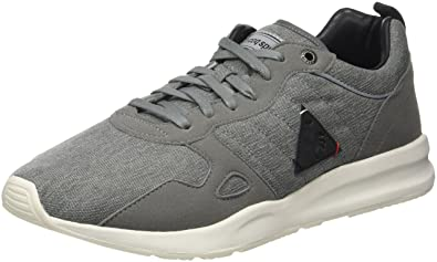 Le Coq Sportif Herren LCS R600 2 Tones Reflective Trainer Low Grey Denim/B