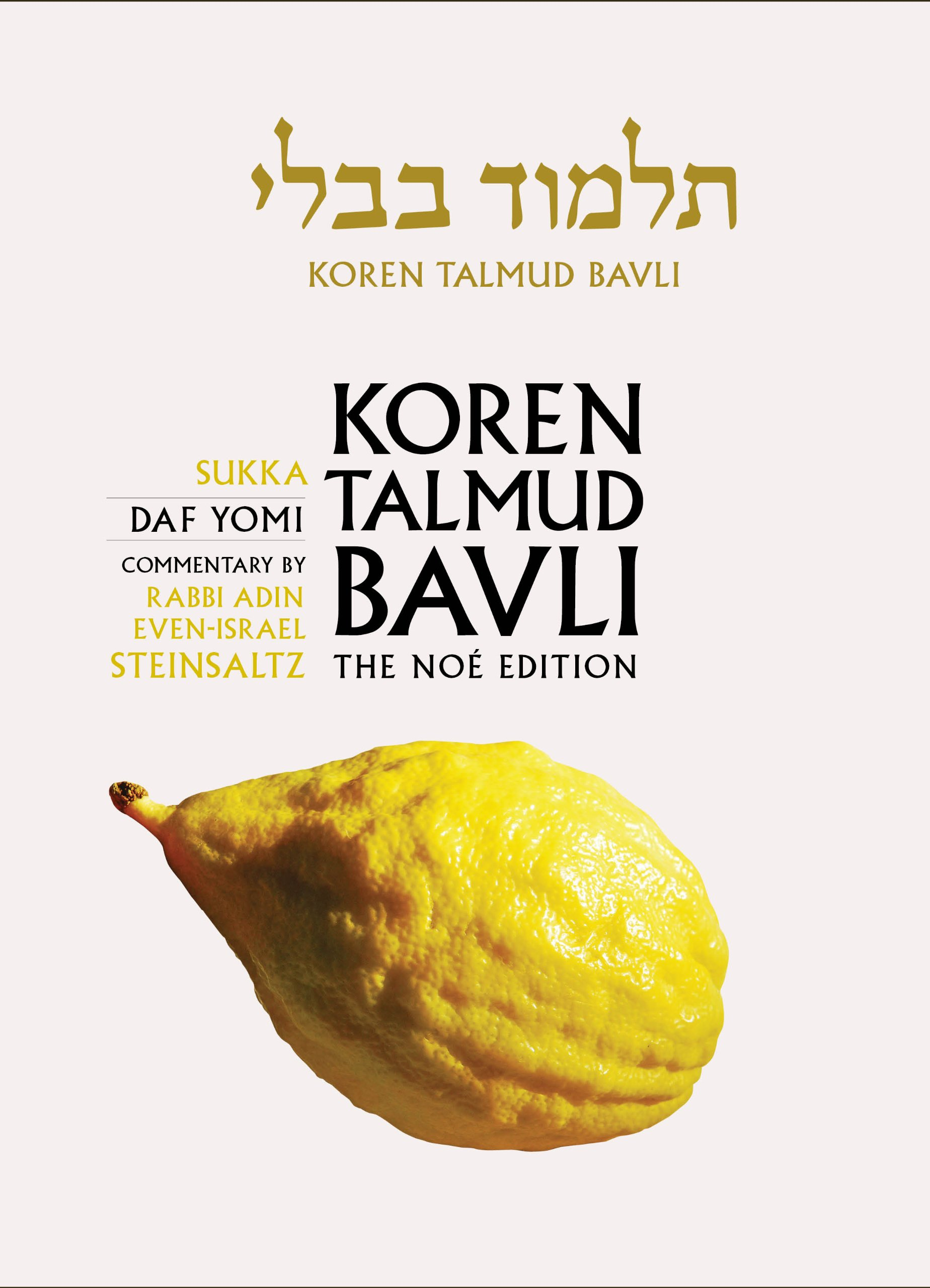 Read Online Koren Talmud Bavli: Sukka Daf Yomi, The Noe Edition ebook