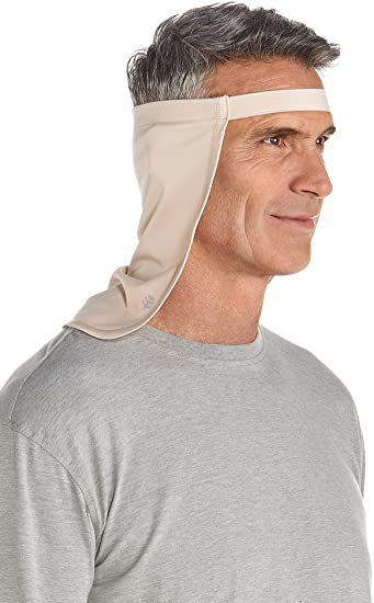 c1b4b4eb5 Coolibar UPF 50+ Unisex Hat Drape - Sun Protective