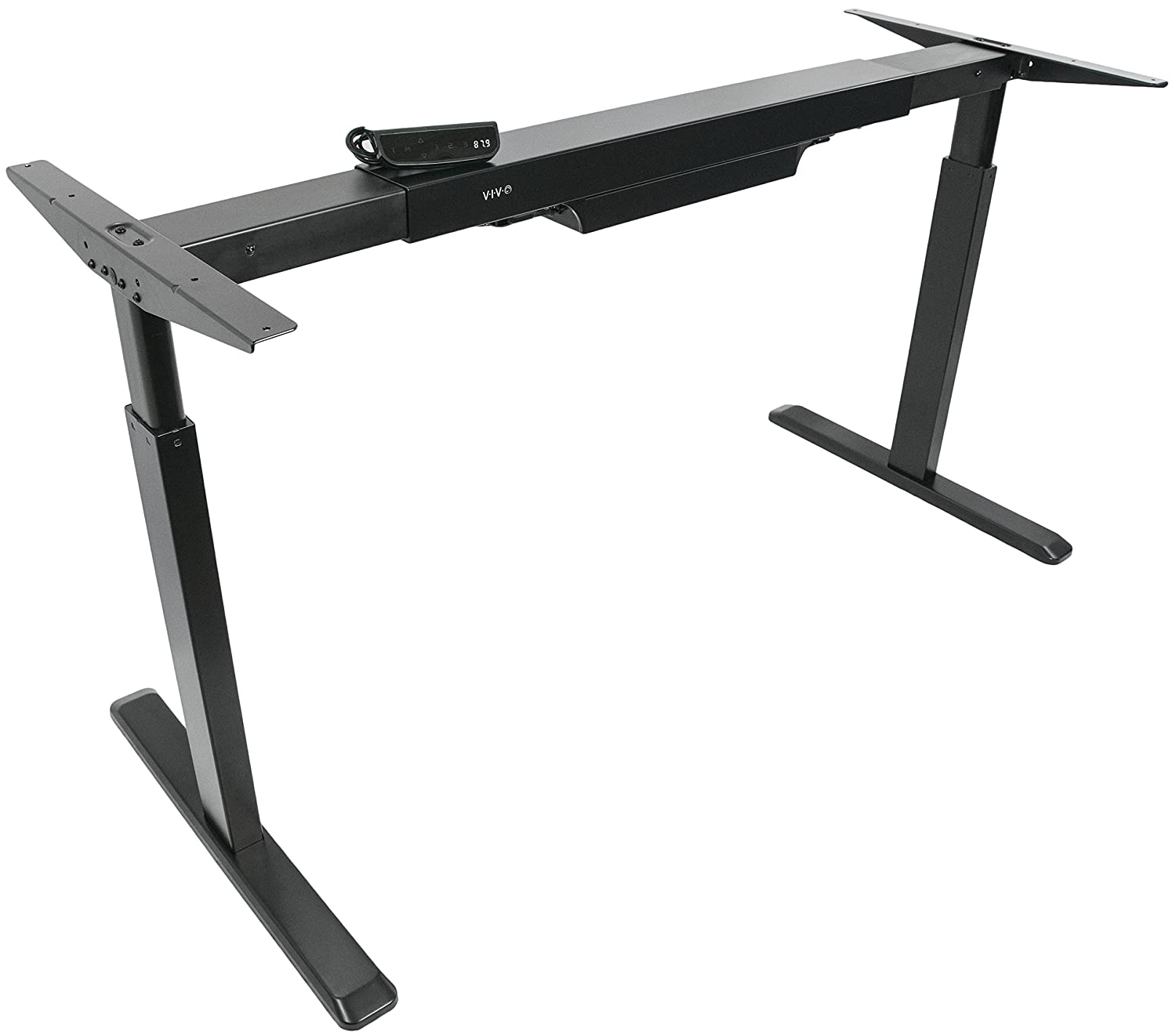 Amazon.com : VIVO Electric Stand Up Desk Frame Only Solid Steel W/ Single  Motor Ergonomic Standing Height Adjustable (DESK V101E) : Office Products