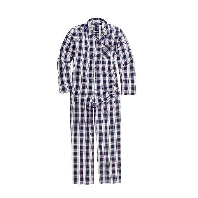 Jockey - Pijama - Cuadrados - para Hombre Blau-Rot-Weiß Kariert Medium