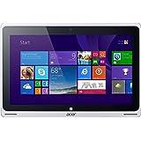 Acer Aspire Switch 10 Pro (SW5-012P) 25,6 cm (10,1 Zoll) Convertible Notebook (Intel Atom Z3735F Quad Core, 1,3GHz, 2GB RAM, 32GB SSD, Windows 8) silber