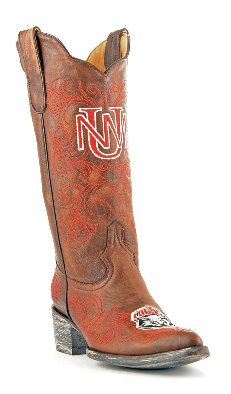 Gameday Stiefel NCAA New Mexiko Lobos Damen 33 cm