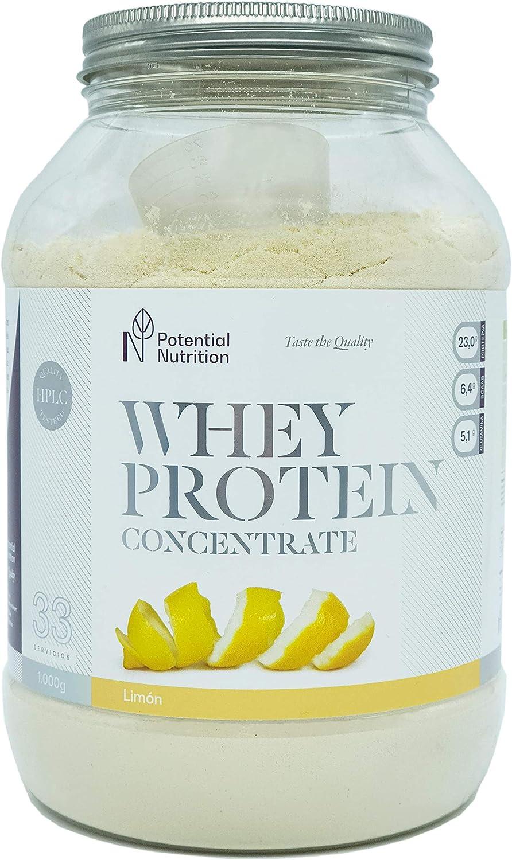 Proteina Whey Premium 1kg - Limón - Marca España - Sin ...
