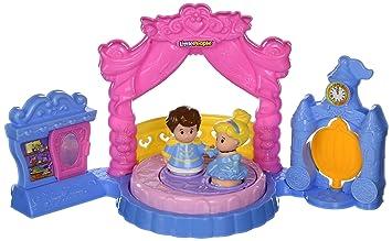 Fisher Price Little People Disney Princess Cinderellas Ball Playset