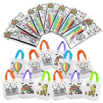 Beetest ES 8 Piezas de Bolsas de lápices para Colorear DIY ...