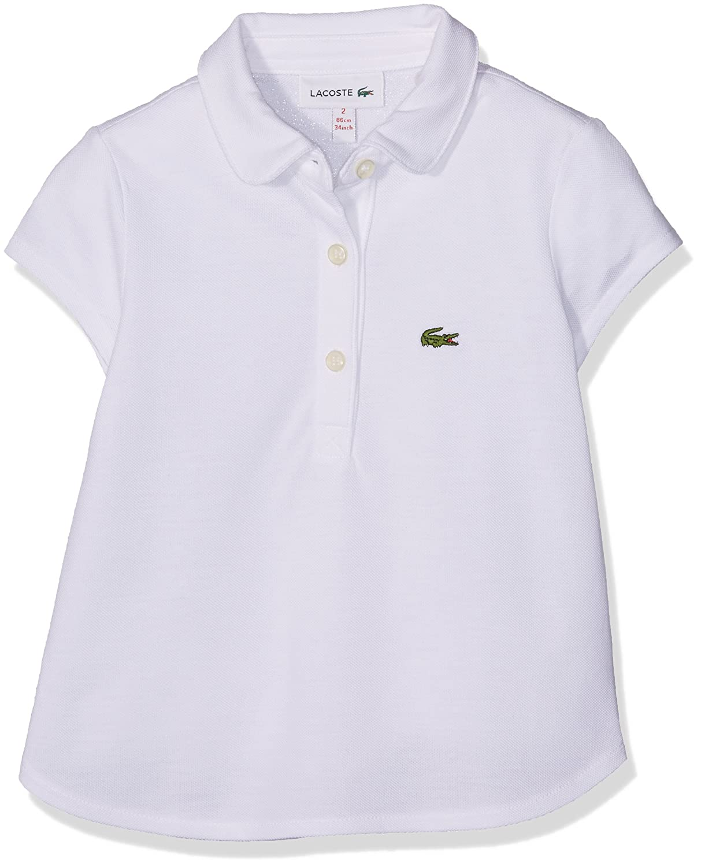 Lacoste Polo Bambina Lacoste PJ2806 Bianco (Blanc 001)