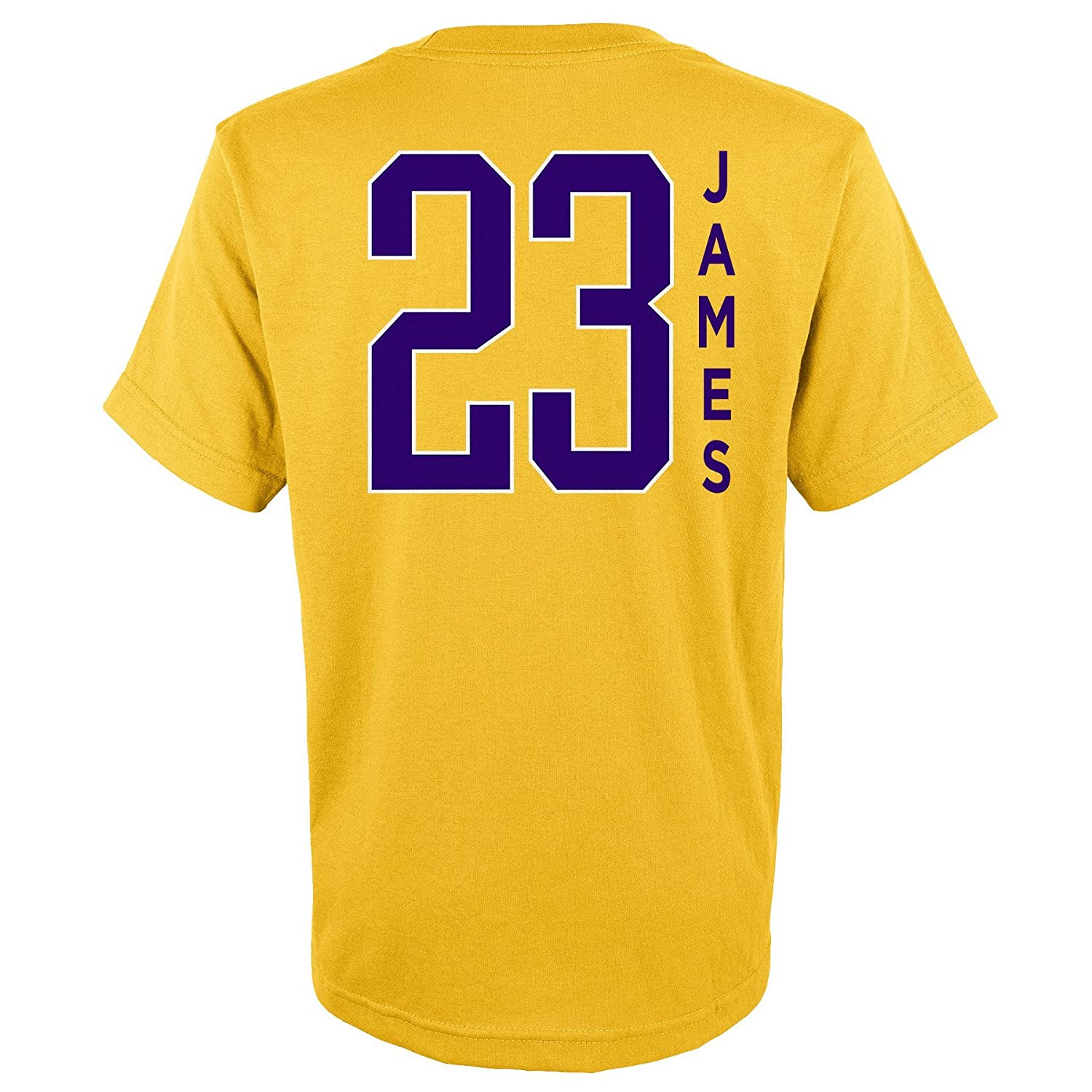 NBA Kids /& Youth Boys Lebron James Name /& Number Short Sleeve Tee
