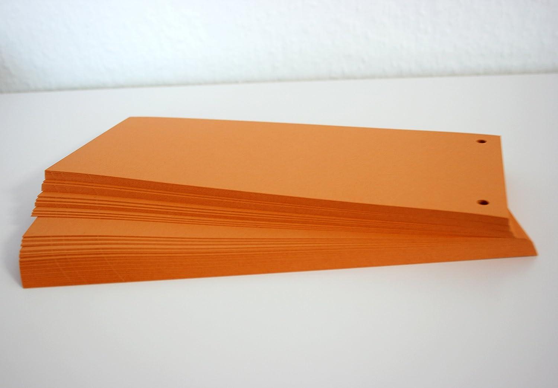 Trennstreifen mit Lochung I bunt I zum Trennen von Dokumenten I 1000er Set