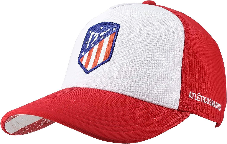 Atlético de Madrid Gorra Adulto Rojiblanco Producto Oficial ...
