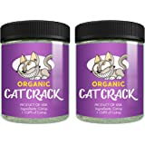 Cat Organic Catnip Crack, Premium Blend Safe, Infused with Maximum Potency Your Kitty is Guaranteed to Go Crazy for! (2 Cups)