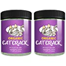 Cat Crack Organic Catnip, Premium Blend Safe for Cats, Infused with Maximum Potency Your Kitty is Sure to Go Crazy for