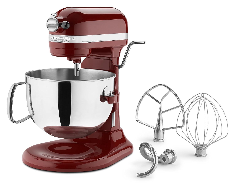 Amazon.com: KitchenAid KP26M1PSL Professional 600 Series 6-Quart ...