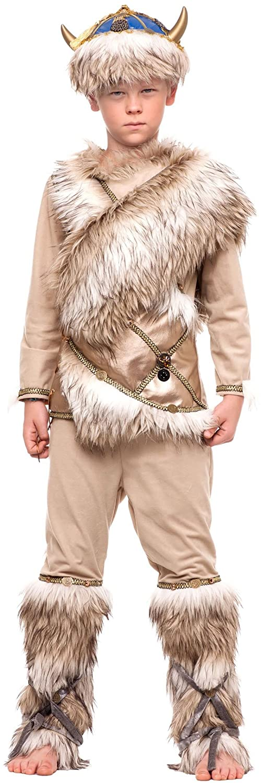 chiber Disfraces Disfraz de Guerrero Vikingo para Niño (Talla 10 ...