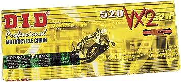 Did Kette 520 Vx2 114 Glieder X Ring Gold Offen Mit Clipschloss Auto