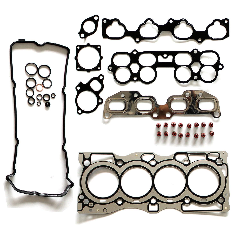 ECCPP Compatible fit for Valve Head Gasket Set Automotive Replacement Engine Valve Head Gasket for 2002-2006 Nissan Altima Sentra QR25DE 2.5L 2500CC L4 DOHC 16 058070-5211-1608152