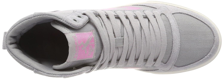 Hummel Damen Slimmer Stadil Hb (Alloy) High Hohe Sneaker Grau (Alloy) Hb 59e8cb