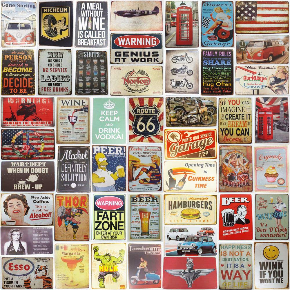 30 x 20 cm UK Company 040 Vintage Dads World Famous BBQ Retro Metal Tin Sign//Plaque for Kitchen Outside Garden Dads Shed Patio Wall//Door