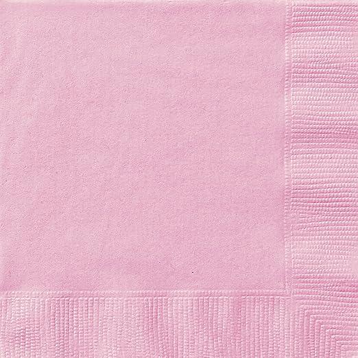 5 opinioni per Unique Party 30872- Tovaglioli di Carta, Confezione da 20, 16,5 cm, Rosa