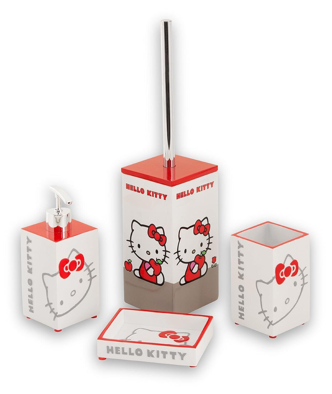 Mebasa HEKIT24 - Dispensador de jabón, diseño de Hello Kitty: Amazon.es: Hogar