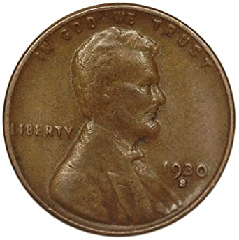 1930 S Lincoln Wheat Penny Good At Amazon S Collectible Coins Store