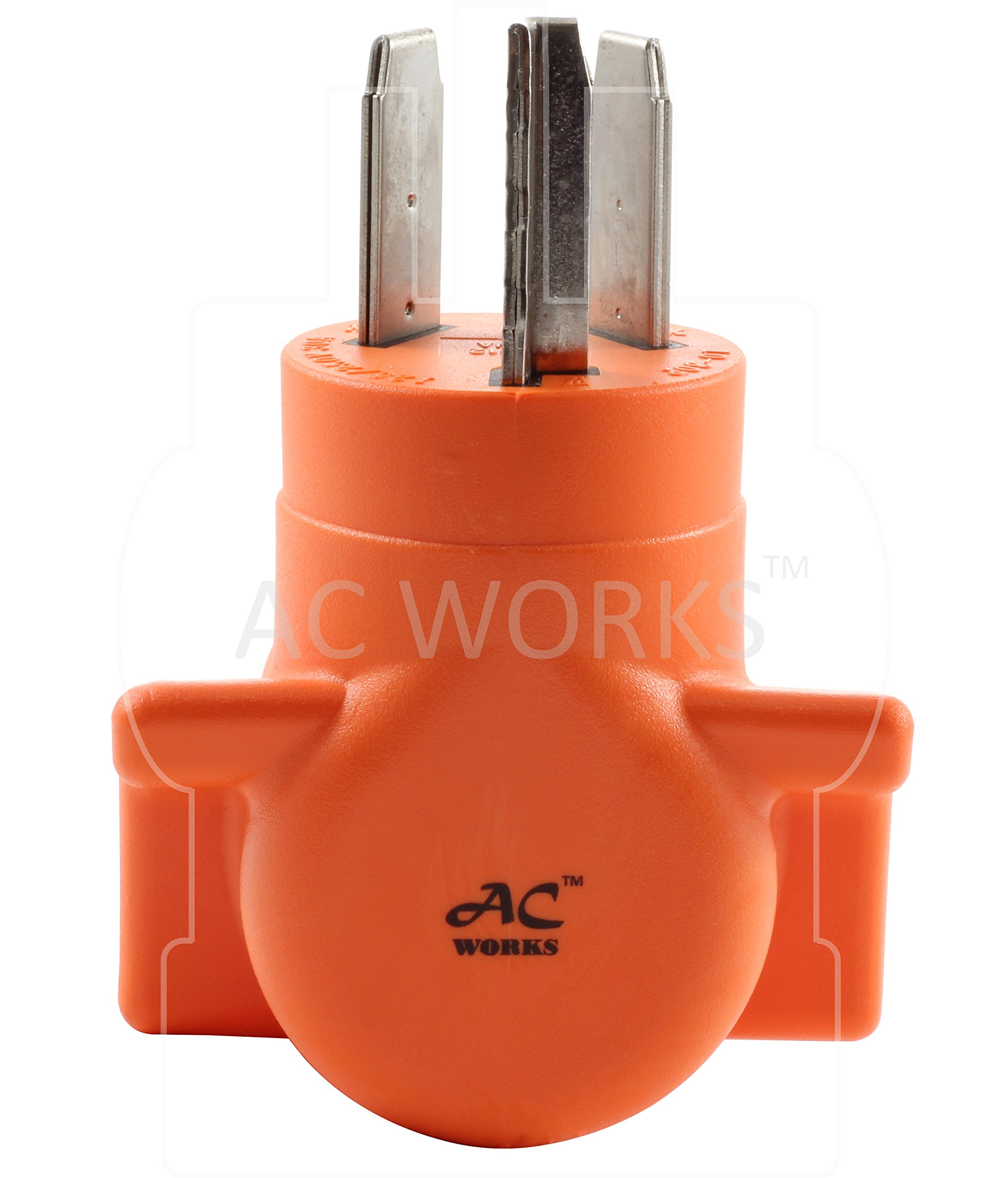 AC WORKS [WD1030650] NEMA 10-30 3-Prong Dryer Plug to 6-50 Welder Adapter by AC WORKS (Image #7)