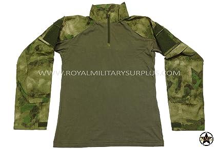 Amazon com : Tactical Shirt - A-TACS FG (Foliage/Green